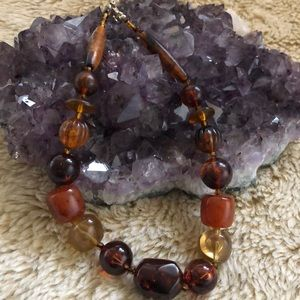 "Amber Beads - 16"" length - As Is"